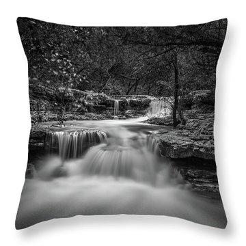 Waterfall In Austin Texas Throw Pillow
