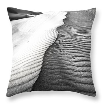Throw Pillow featuring the photograph Wave Theory V by Ryan Weddle