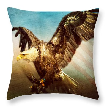 We The People Throw Pillow