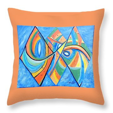We're In This Together Throw Pillow