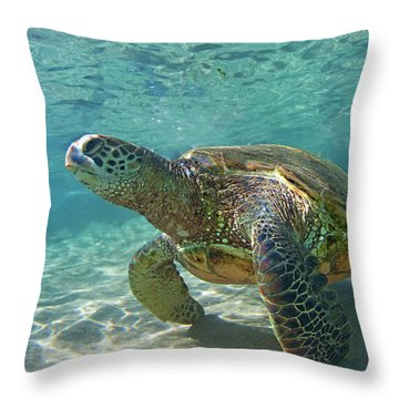 What Are You Lookin At Throw Pillow