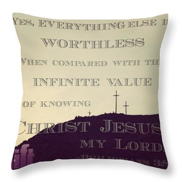 Whatever Happens, My Dear Brothers And Throw Pillow
