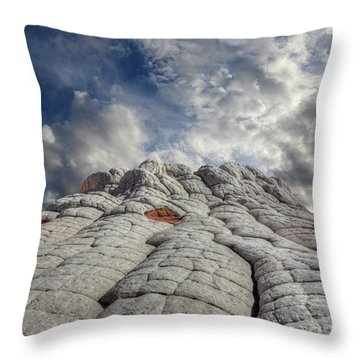 Throw Pillow featuring the photograph Where Heaven Meets Earth 2 by Bob Christopher