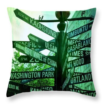 Square Mile Throw Pillows