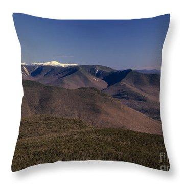 White Mountains Nh Usa Throw Pillow by Erin Paul Donovan