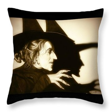 Wicked Witch Of The West Throw Pillow
