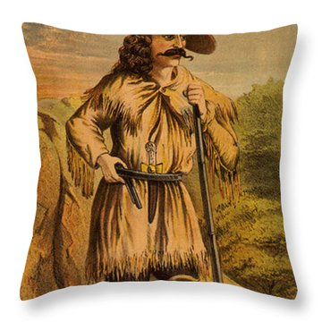 Legendary Rifle Throw Pillows