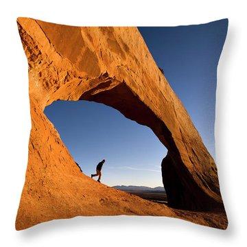 Wilson Arch Throw Pillow
