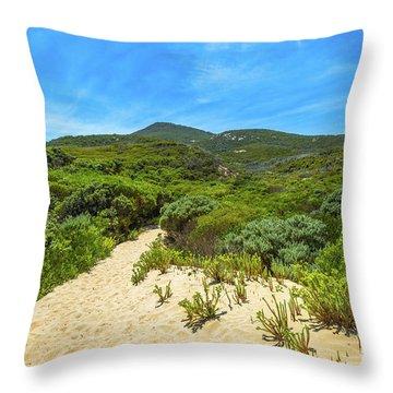 Wilsons Promontory Victoria Throw Pillow