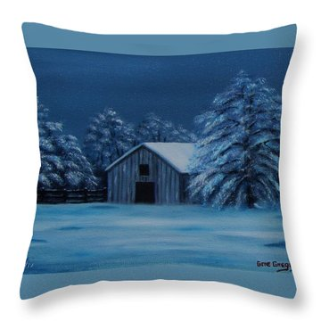 Windburg Barn 2 Throw Pillow