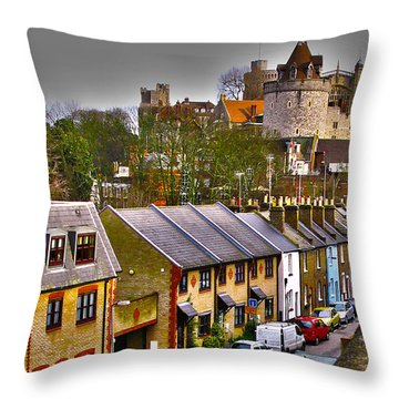 Windsor Castle Throw Pillow