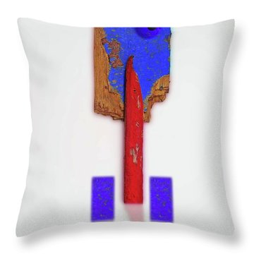 Winter Throw Pillow by Charles Stuart