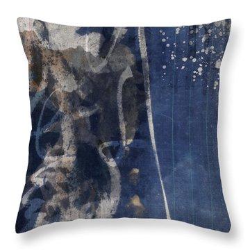 Winter Nights Series Six Of Six Throw Pillow