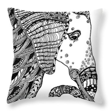 Wise Elephant Throw Pillow