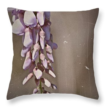 Wisteria Dreams- Fine Art Throw Pillow