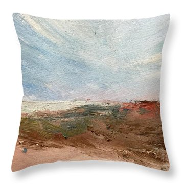 Witness Throw Pillow by Trilby Cole