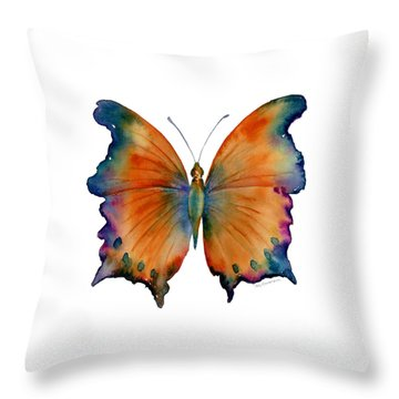 1 Wizard Butterfly Throw Pillow
