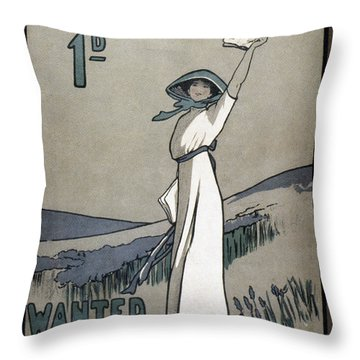 Womens Rights Throw Pillow by Granger