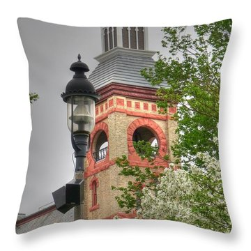 Woodstock Opera House Throw Pillow