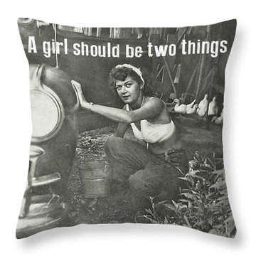 Working At The Carwash Quote Throw Pillow