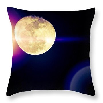 Wouldn't It Be Great If The #moon And Throw Pillow