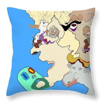 Wysiwyg1v1 Throw Pillow