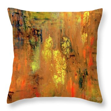 Yellow II Throw Pillow