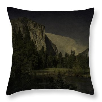 Throw Pillow featuring the photograph Yosemite National Park by Ryan Photography