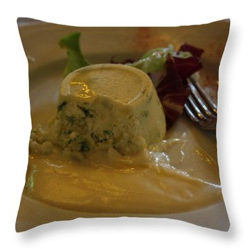 Throw Pillow featuring the photograph Yum by Pat Purdy