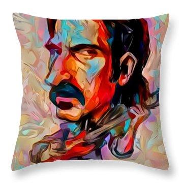 Zappa Throw Pillow