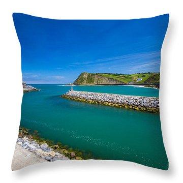 Zumaia Throw Pillow