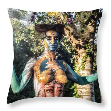 ... Throw Pillow by Traven Milovich