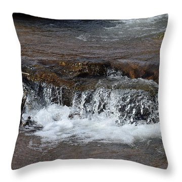 Waterfall Westcliffe Co Throw Pillow