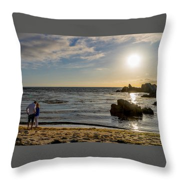 10 Cropped Throw Pillow