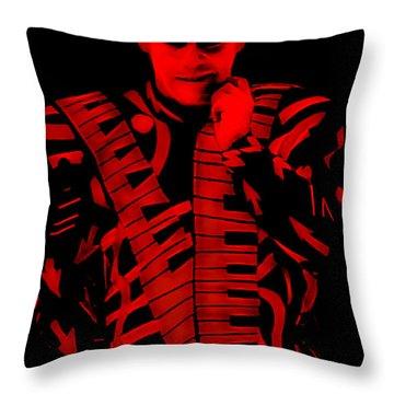 Elton John Collection Throw Pillow