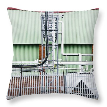 Factory Throw Pillow