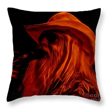Leon Russell Collection Throw Pillow