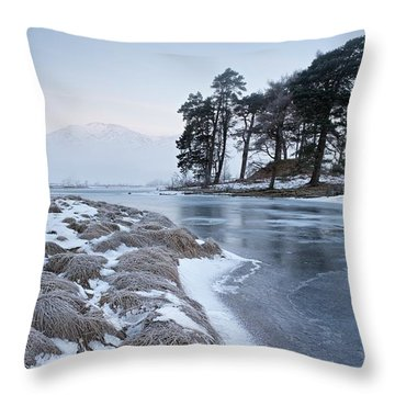 Throw Pillow featuring the photograph Loch Tulla by Stephen Taylor