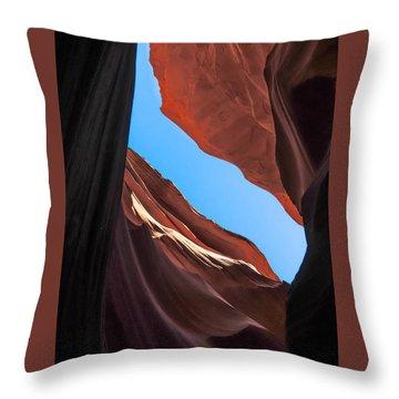 Lower Antelope Canyon Navajo Tribal Park #11 Throw Pillow