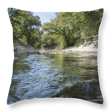 10 Mile Creek Throw Pillow