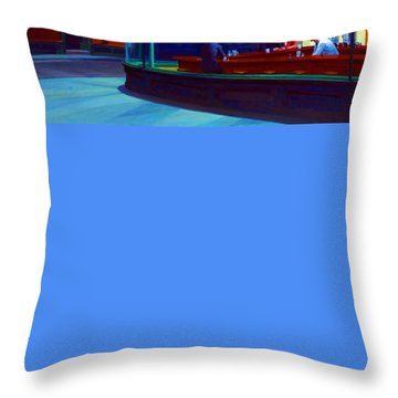 Nighthawks Throw Pillow