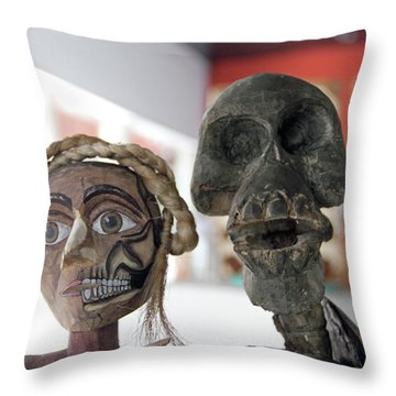 @oaxaca, Mexico Throw Pillow