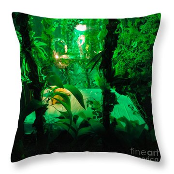 Throw Pillow featuring the photograph Salvador Dali Museum by Gregory Dyer