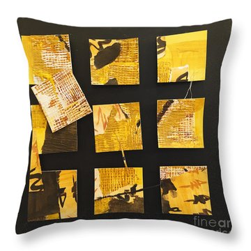 10 Square Throw Pillow