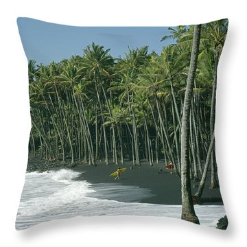 Throw Pillow featuring the photograph 100903-a2 by Ed Cooper Photography