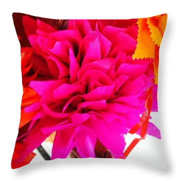 Colorful / Colourful Throw Pillow