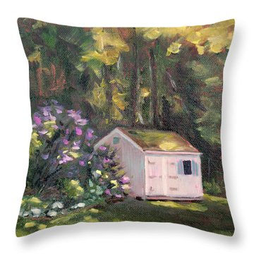 101 Blooms Throw Pillow