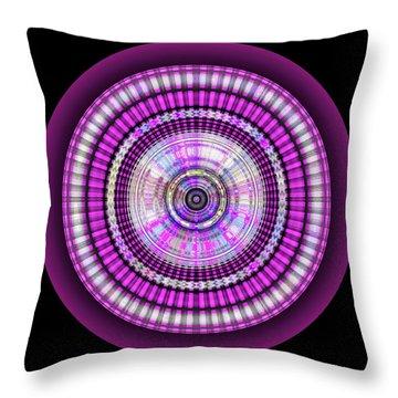 Throw Pillow featuring the digital art 102920171 by Visual Artist Frank Bonilla