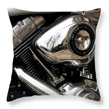 103 Cubic Inches Throw Pillow