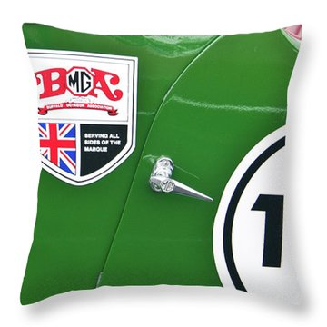 Throw Pillow featuring the photograph 105 2039 by Guy Whiteley